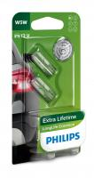 PHILIPS LongLife Eco Vision (W5W, 12961LLECOB2)