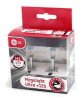 General Electric H1 12V- 55W (P14,5s) Megalight Ultra +120%