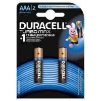 Элемент питания Duracell Батарейка LR03-2BL Turbo Max AAA 2 шт