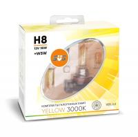 SVS Yellow 3000K H8 35W+W5W