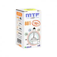 MTF Light H27 881 12V 27W Standard +30% 2900K