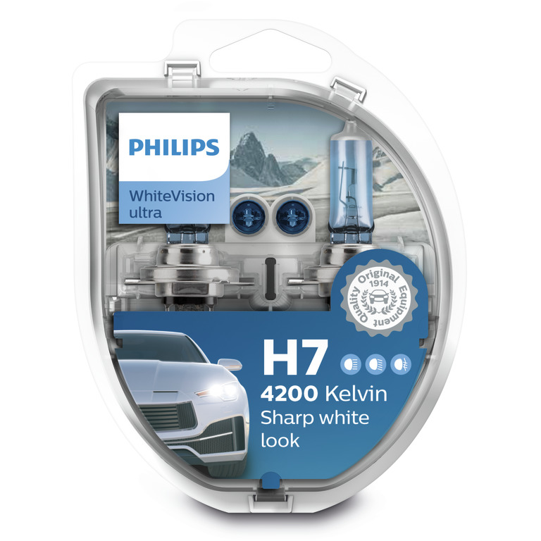 PHILIPS WHITE VISION ULTRA (H7, 12972WVUSM)