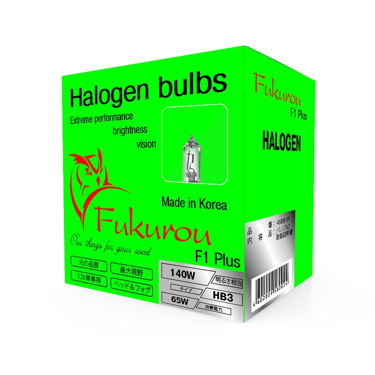 Fukurou HB3 12V 65W (140W) PLUS-Series