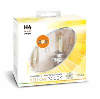 SVS Yellow 3000K H4 60/55W+W5W