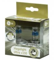General Electric H4 12V- 60/55W (P43t) Megalight Ultra +130%