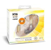 SVS Yellow 3000K H16 19W+W5W