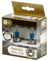 General Electric H11 12V- 55W (PGJ19-2) Megalight Ultra +130%