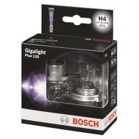 BOSCH H4 12V- 60/55W (P43t) GIGALIGHT PLUS +120% (к.уп.2шт.)