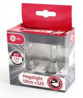 General Electric H7 12V- 55W (PX26d) Megalight Ultra +120%