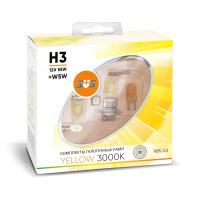 SVS Yellow 3000K H3 55W+W5W