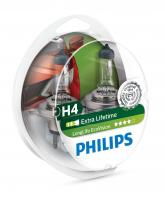 PHILIPS LongLife Eco Vision (H4, 12342LLECOS2)