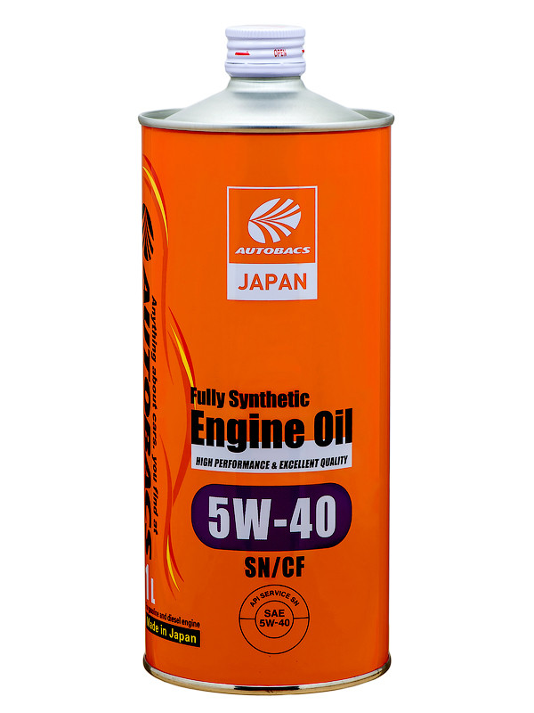 Масло моторное AUTOBACS ENGINE OIL FS 5W40 SN/CF, 1л