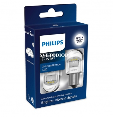 Купить Philips X-tremeUltinon LED gen2 (P21W, 11498XUWX2) | Svetodiod96.ru