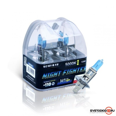Купить Avantech NIGHT FIGHTER H1 12V 55W (120W) 5000K | Svetodiod96.ru